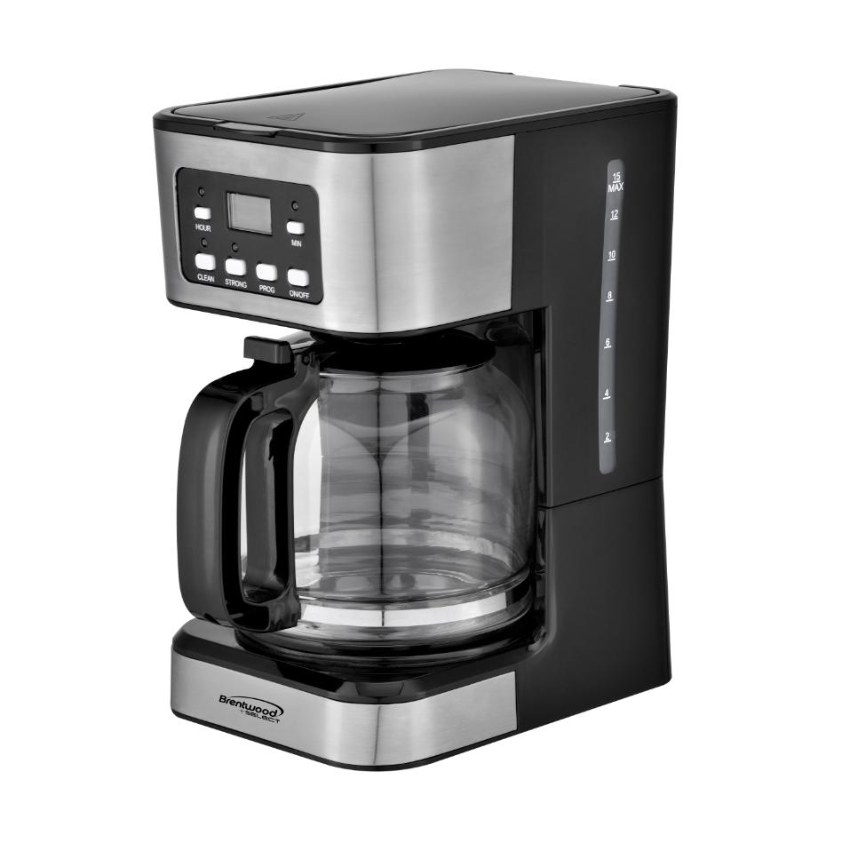 12 CUP DIGITAL COFFEEMAKER BLACK