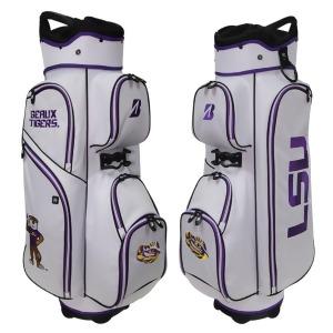 Bridgestone NCAA Golf Stand Bag-LSU