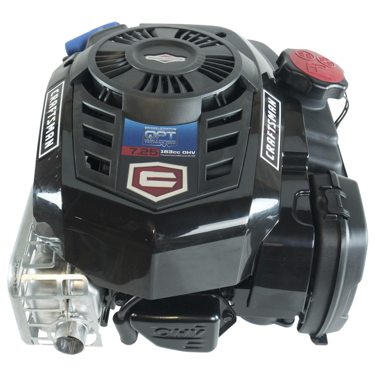 """163cc 725EXI Gross Torque, Vertical 25mmx3-5/32"""" Shaft, 2WK, Ready Start, Briggs & Stratton Engine"""