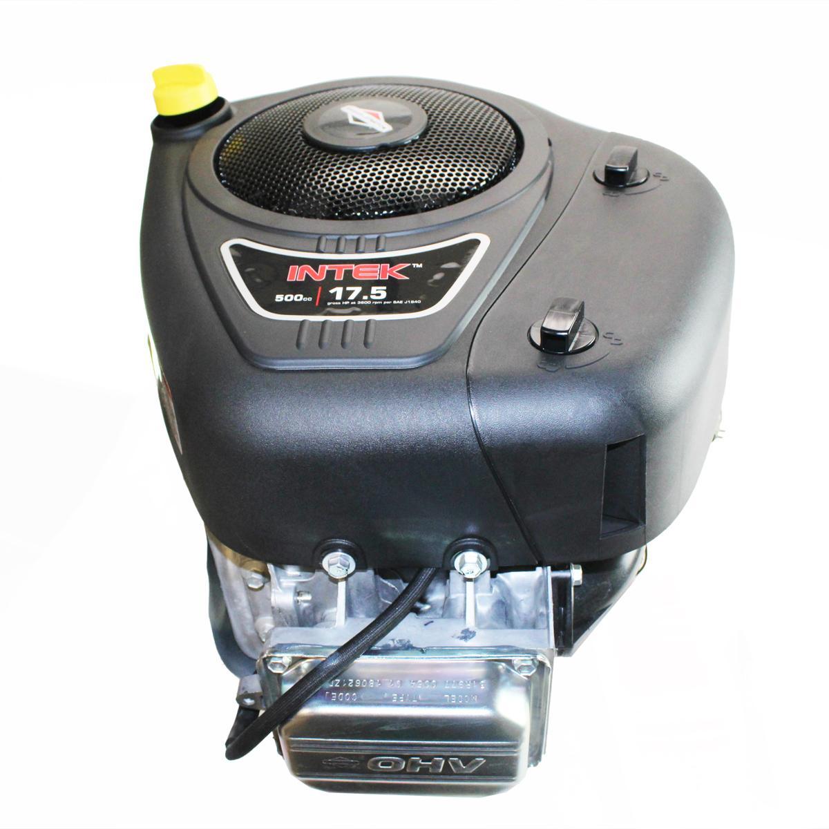 "17.5hp OHV Intek Vertical 1""x3-5/32"" Shaft, Electric Start, 9Amp Alternator, Fuel Pump, Oil Filter, Briggs & Stratton Engine"