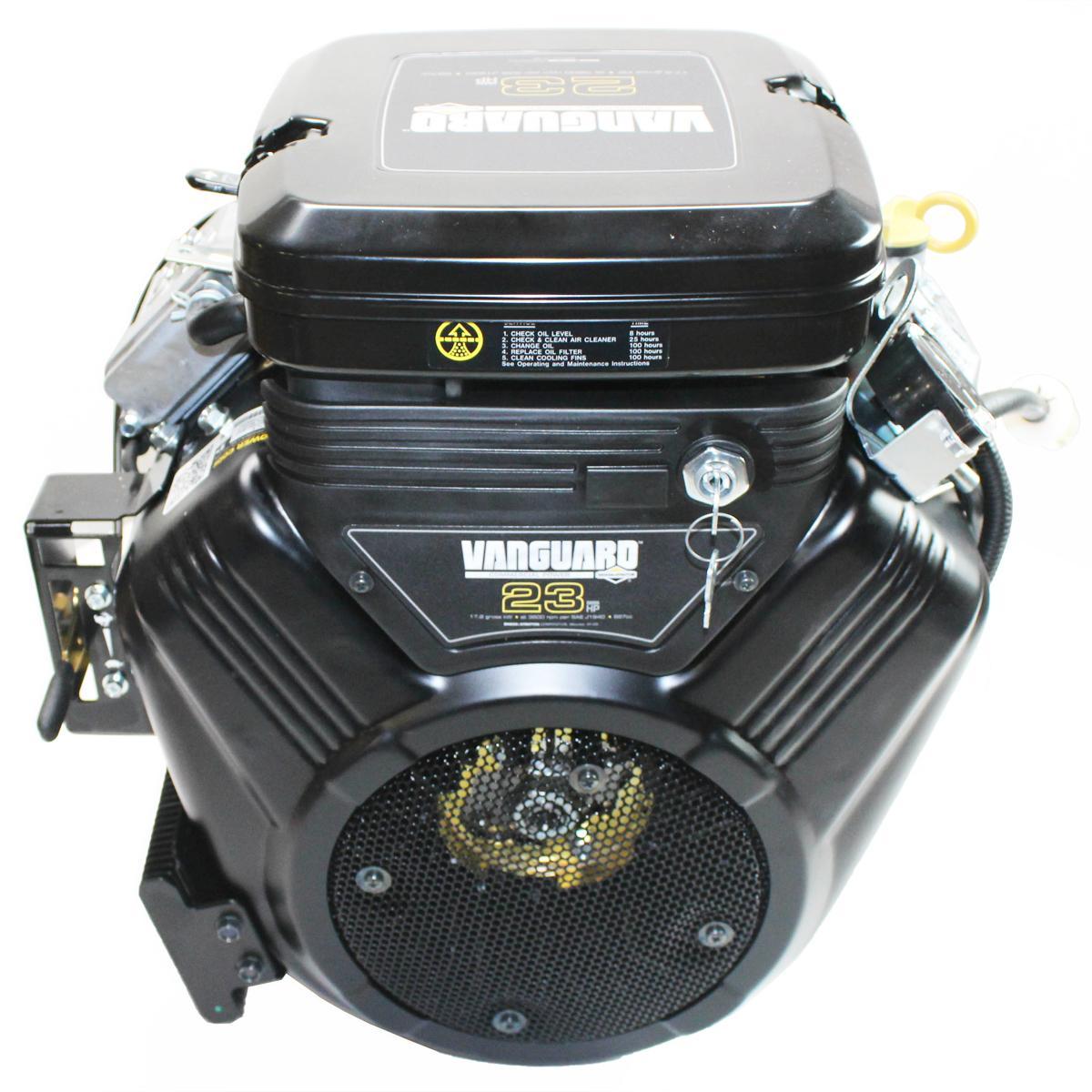 "23hp Vanguard Horizontal 1""x2-29/32"" Shaft, Electric Start, Fuel Pump, Oil Filter & Cooler, Key Switch Briggs & Stratton Engine"