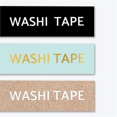3PK Washi Tape