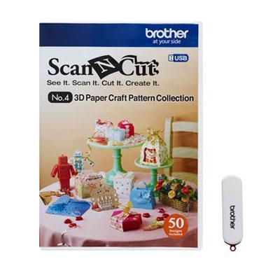 ScanNcut 3D Paper Craft USB