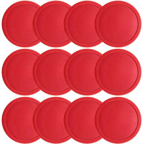 "One Dozen Air Hockey Pucks - 3 1/4"" in Diameter"