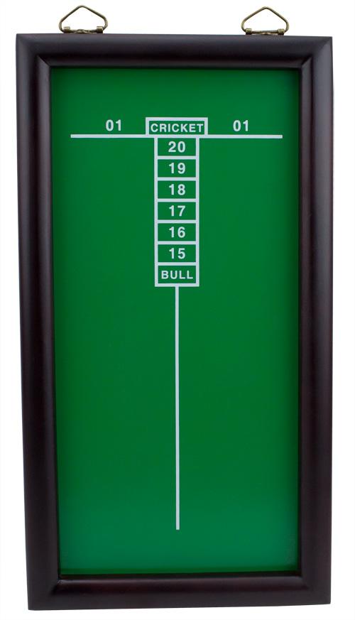 Green Cricketeer Dart Chalkboard