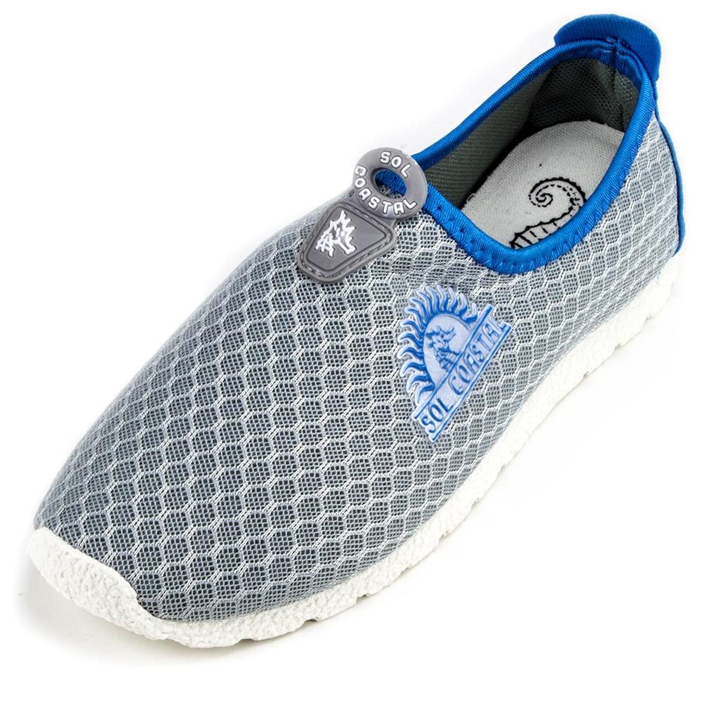 Grey Women's Shore Runner Water Shoes, Size 6