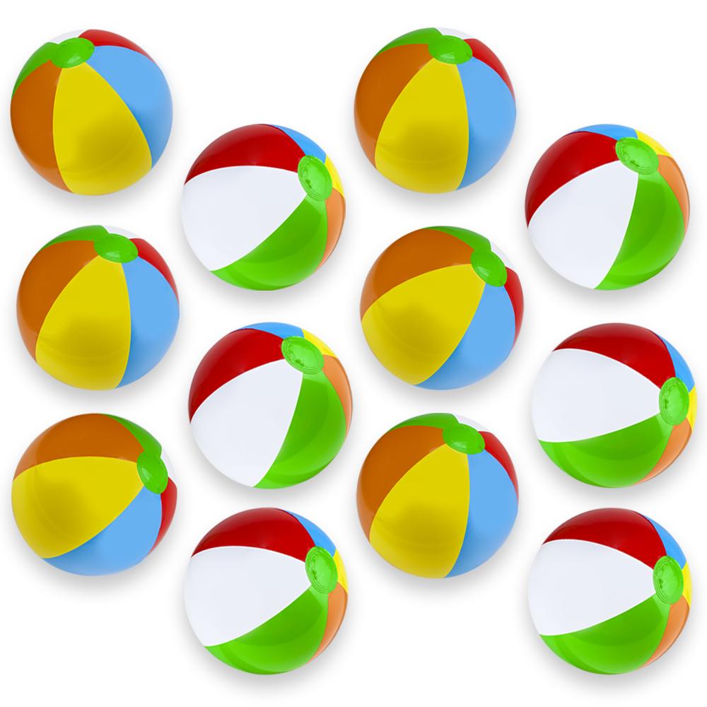 """12-Pack 12"""" Beach Balls"""