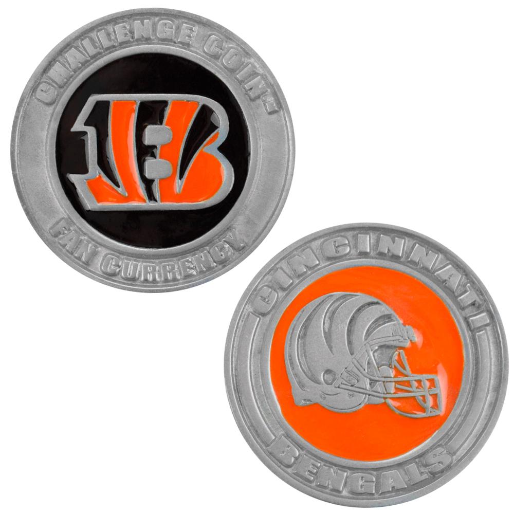 Challenge Coin Card Guard - Cincinnati Bengals