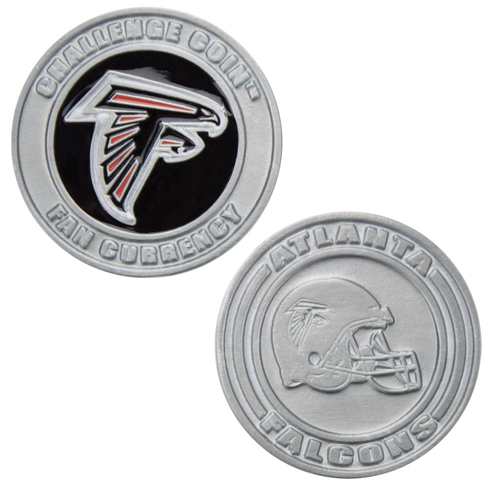 Challenge Coin Card Guard - Atlanta Falcons