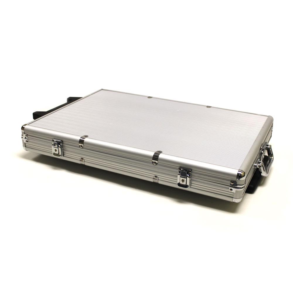 1,000 Ct Rolling Aluminum Case