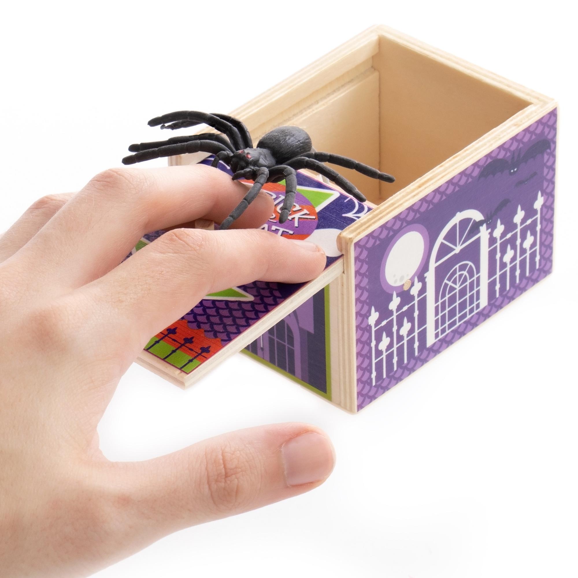 Spider Prank Box, Halloween