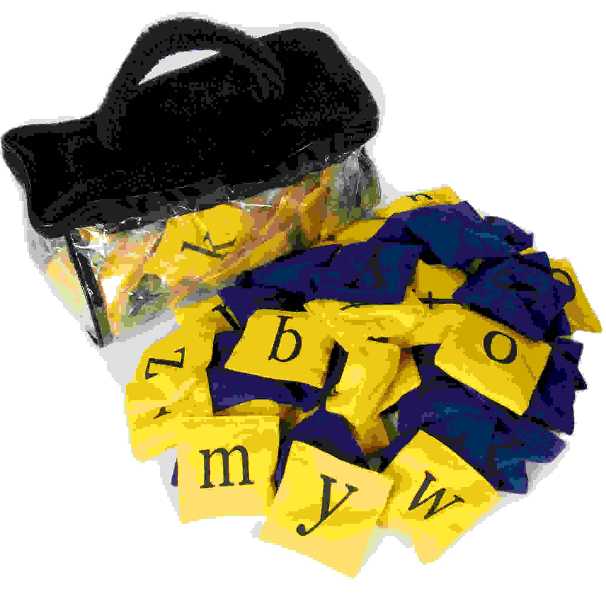 Alphabet Bean Bags