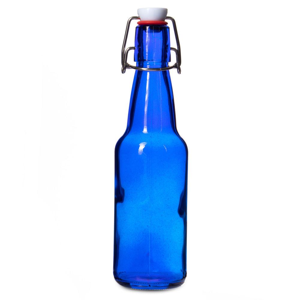11 Oz Blue Grolsch Bottle