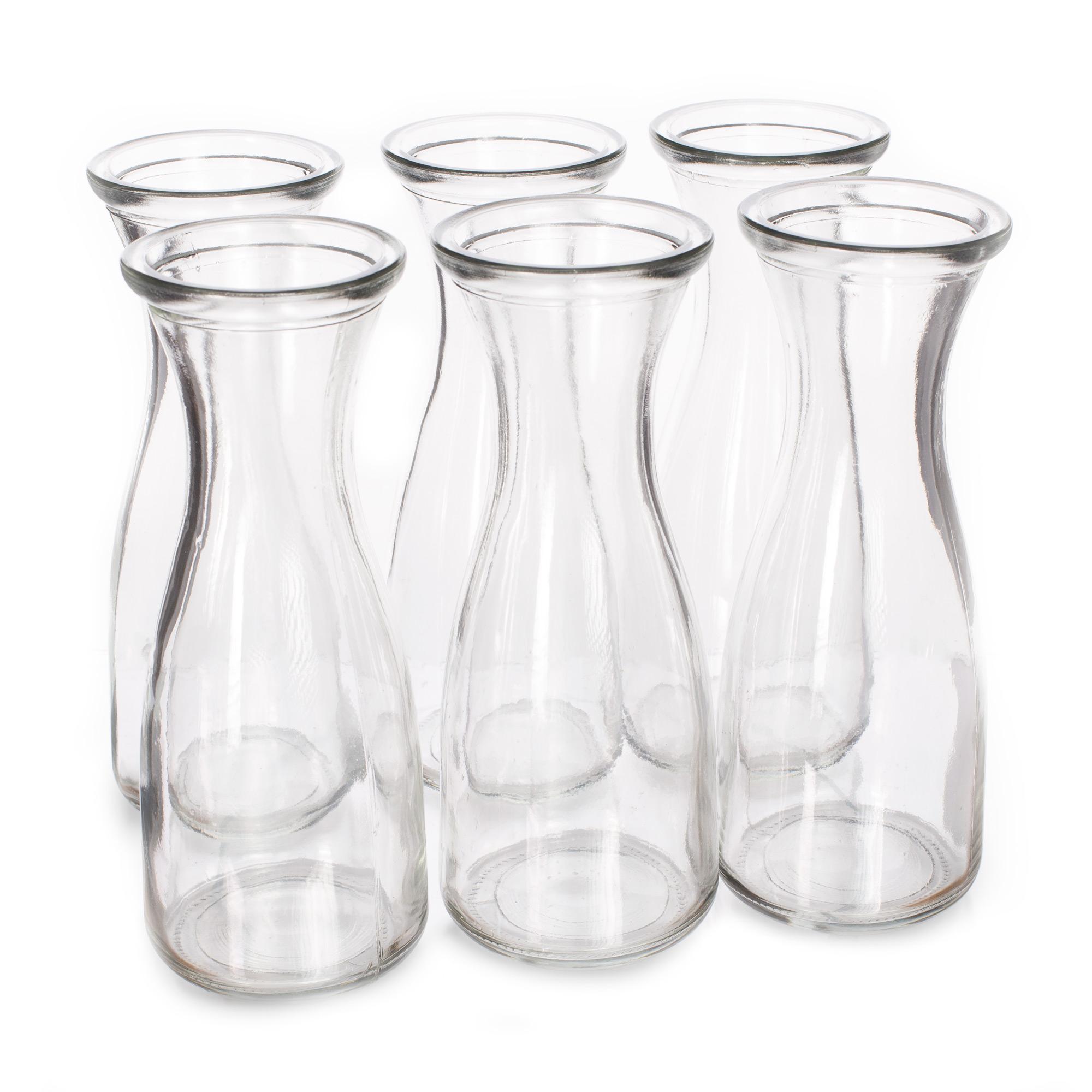 17 oz. (500mL) Glass Beverage Carafe, 6-pack