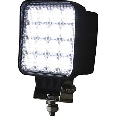 LIGHT,FLOOD,12-48 VDC,16 LED,CLEAR,