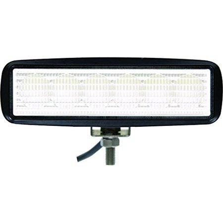 LIGHT,FLOOD,12-24 VDC,6 LED,CLEAR,