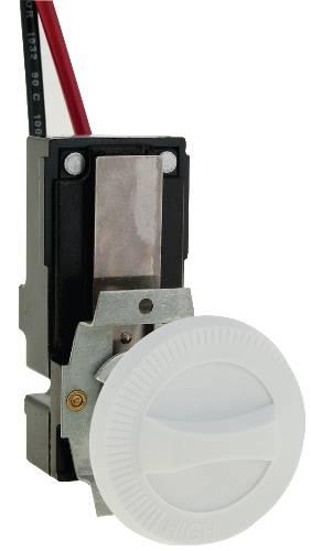 CADET� SINGLE-POLE THERMOSTAT KIT FOR COM-PAK PLUS HEATER, 22 AMPS, WHITE