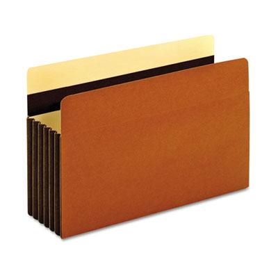 Heavy-Duty File Pockets, 1 Pocket, Legal, Redrope