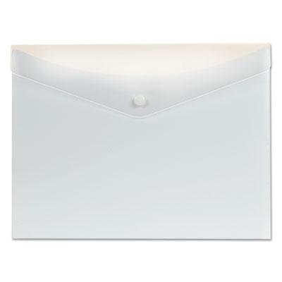 Poly Snap Envelope, 8 1/2 x 11, White