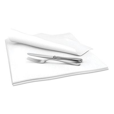 "Select Dinner Napkins, 1-Ply, 15"" x 15"", White, 1000/Carton"