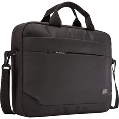 """Advantage Laptop Attache, For 14"""" Laptops, 14.6 x 2.8 x 13, Black"""