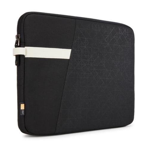 "Ibira 11.6"" Laptop Sleeve, 12.6 x 1.2 x 9.4, Polyester, Black"