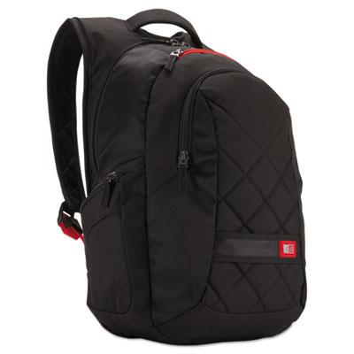 "16"" Laptop Backpack, 9 1/2 x 14 x 16 3/4, Black"