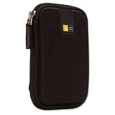 Portable Hard Drive Case, Molded EVA, Black