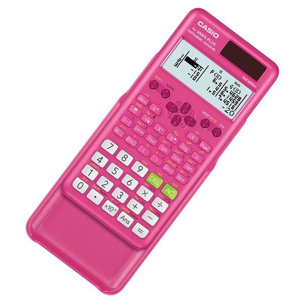 CASIO FX-300ESPLS2-PINK Scientific 2nd Edition Calculator (Pink)