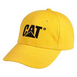 CAT  TRADEMARK CAP  YELLOW