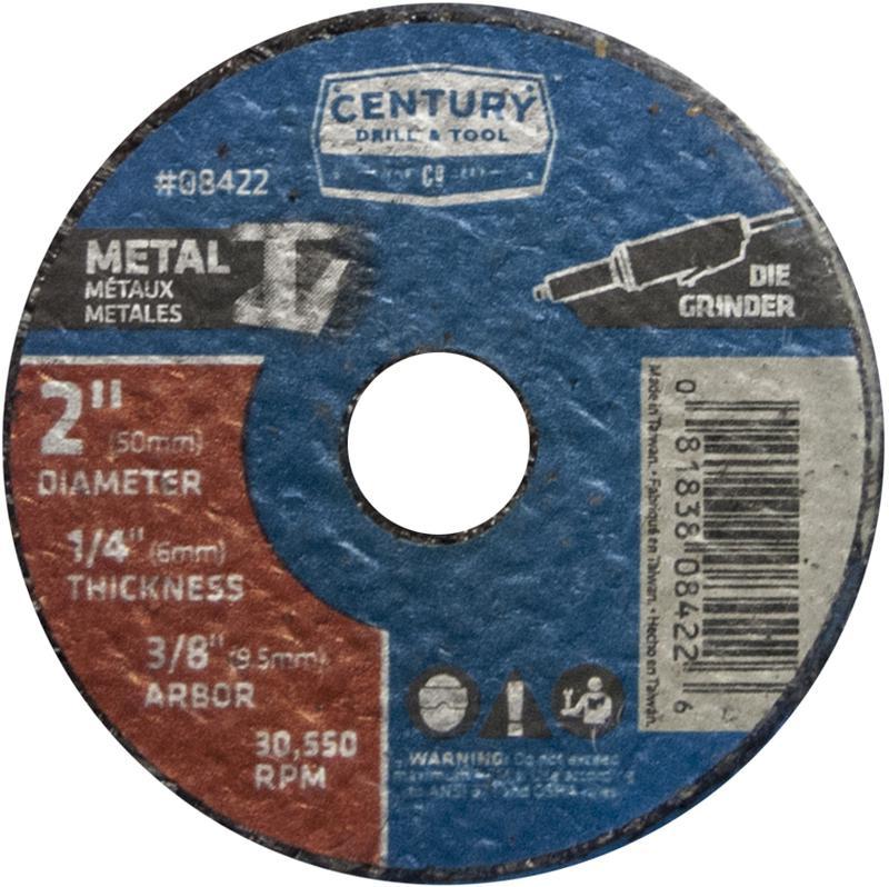 08422 2X1/4 METAL GRIND WHEEL