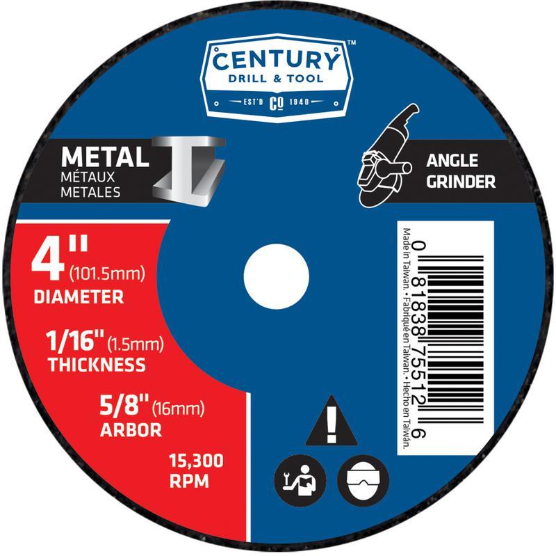 75512 4X1/16 METAL GRINDING WHEEL