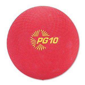 """Playground Ball, 10"""" Diameter, Red"""