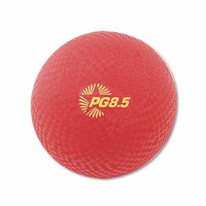 """Playground Ball, 8-1/2"""" Diameter, Red"""