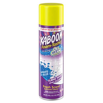 Foamtastic Bathroom Cleaner, Fresh Scent, 19 oz Spray Can