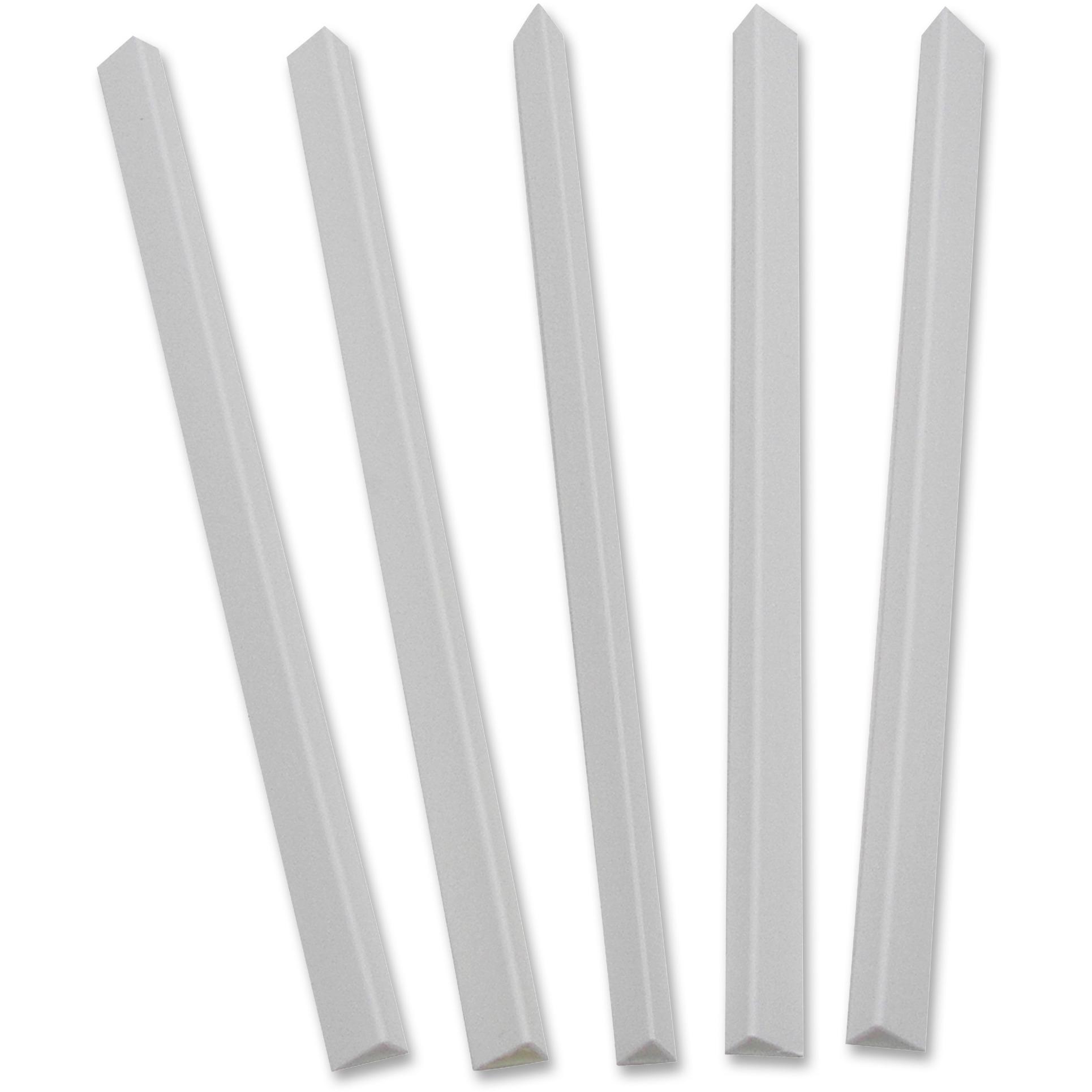 Slide 'N Grip Binding Bars, White, 11 x 1/2, 100/Box