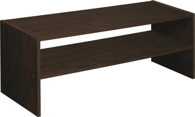 Closetmaid 8923 Horizontal Stackable Closet Organizer, Laminated Wood, Espresso