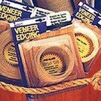 Band-It 78210 Edge Band 7/8 in W 25 ft L, Wood Veneer, Red Oak