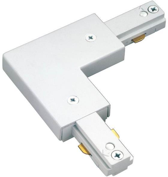 Cooper LZR000203P Track Light L-Connector, White