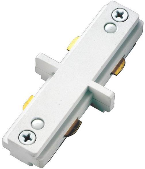 Cooper LZR000212P Mini Track Light Connector, White