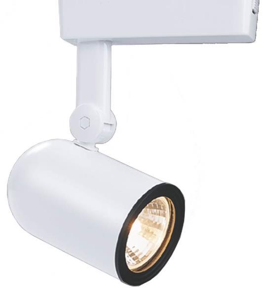 Cooper Lighting LZR000405P Halo Track Lights, Roundback Cylinder, White