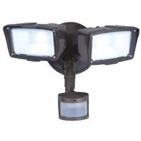 Cooper Lighting MST18920L Twin Head Floodlight, 120 VAC, LED, 27 W