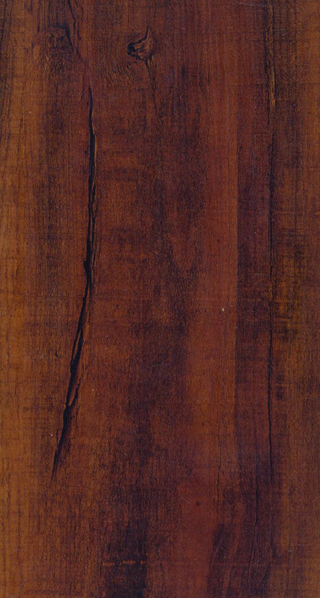 Courey International 21231306 Waterproof Plank Flooring, 48 in L x 5.6 in W x 7.2 mm T, 20.37 sq-ft, Lapacho