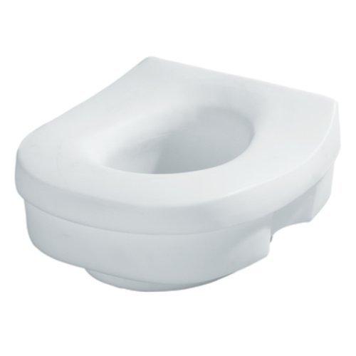 MOEN ELEVATED TOILET SEAT, WHITE