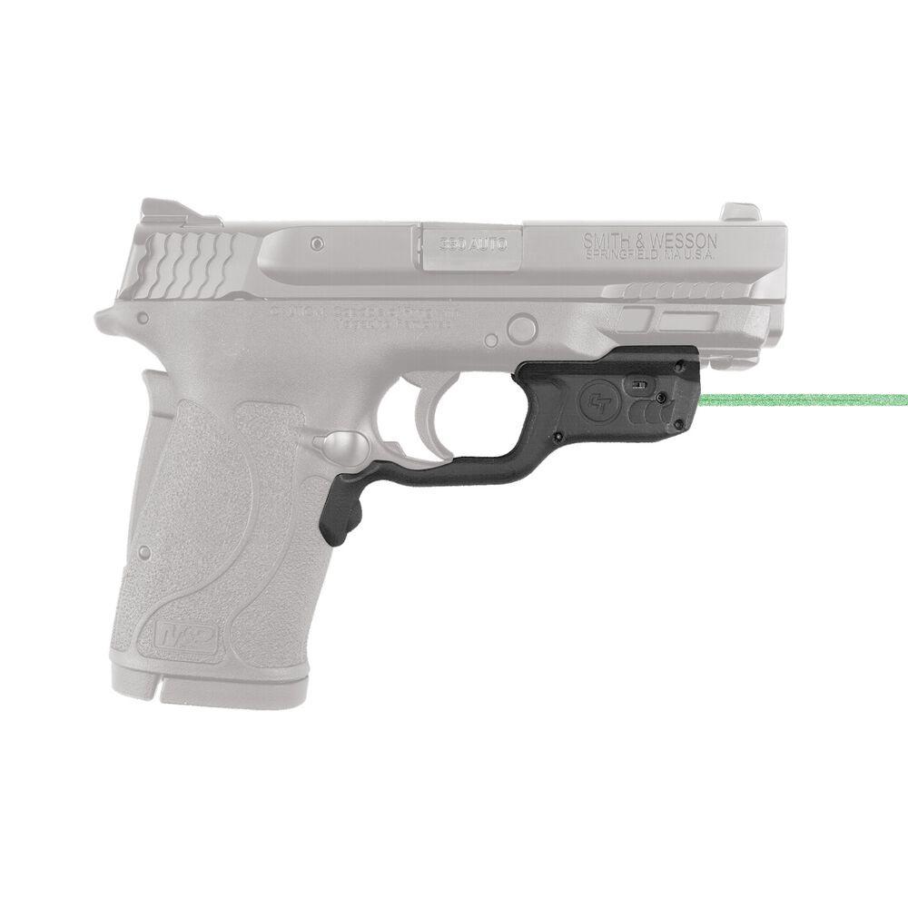 Crimson Trace Laserguard Smith & Wesson M&P9EZ M&P380EZ and M&P22 Green Laser