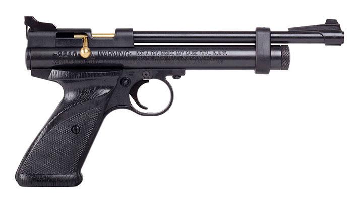 Crosman 2240 (Black)CO2 Powered Bolt-Action Single Shot Air Pistol