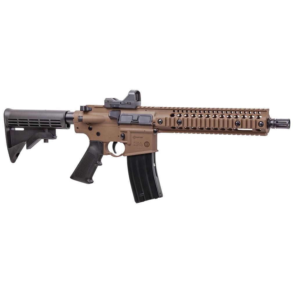 Crosman Full/Semi-Auto CO2 R1 BB Rifle with Red Dot