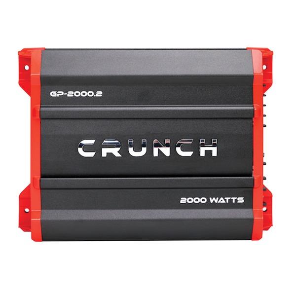 Crunch GP-2000.2 Ground Pounder 2,000-Watt 2-Channel Class AB Amp