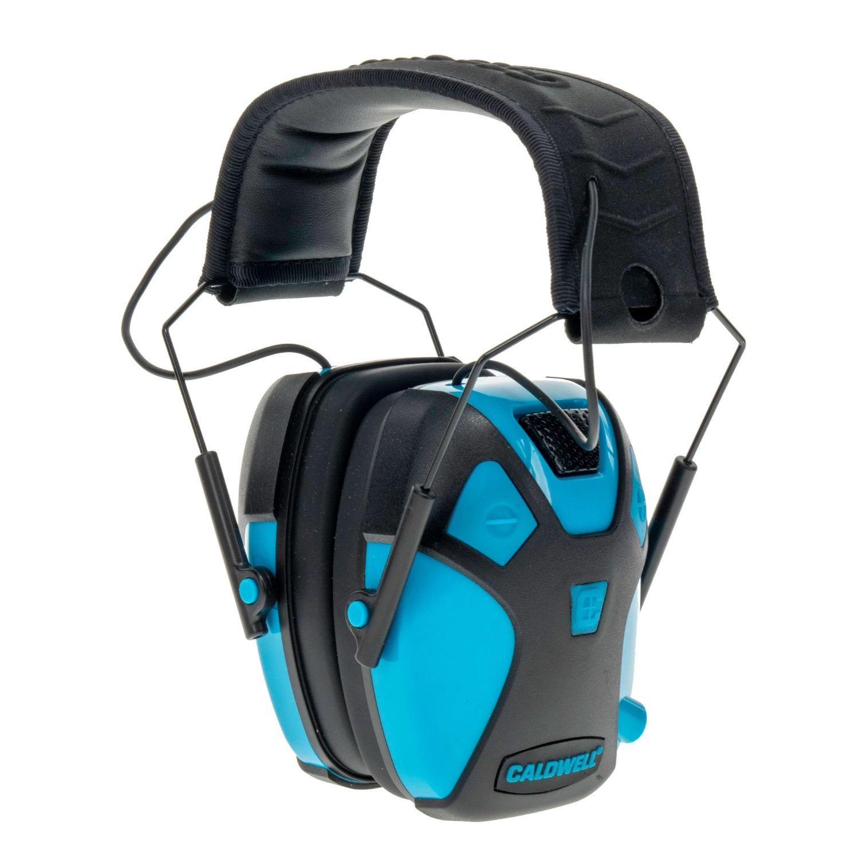 Caldwell Youth E Max Pro Earmuff Neon Blue