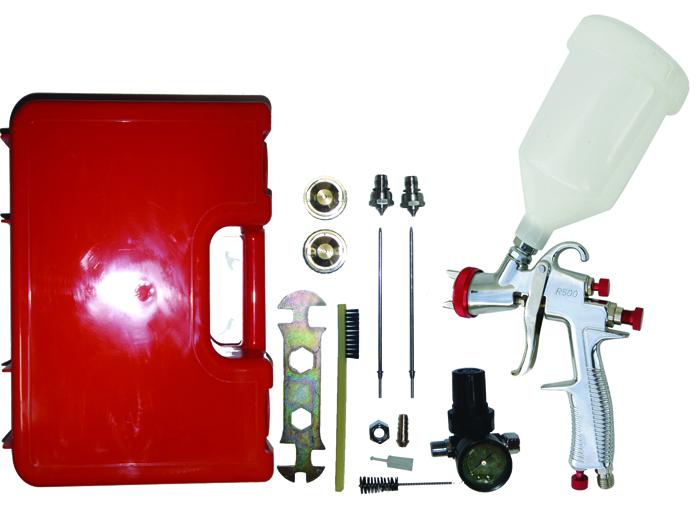 Sprayit Sp-33000 LVLP Gravity Feed Spray Gun Kit